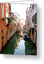 The Beauty Of Venice Greeting Card