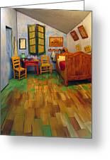 The Bedroom Of Van Gogh At Arles Greeting Card