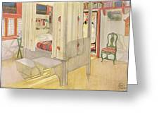 The Bedroom, Published In Lasst Licht Greeting Card