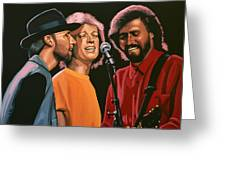 The Bee Gees Greeting Card
