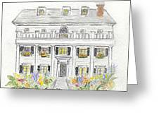 The Beekman Arms In Rhinebeck Greeting Card