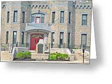 The Bel Air Maryland Armory 2 Greeting Card