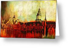 The Belfries Of Belgium And France  Greeting Card