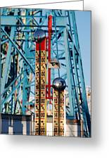 The Bells Of Coney Island Greeting Card