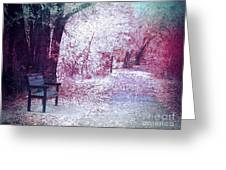 The Bench Of Promises Greeting Card