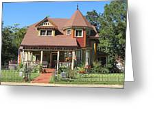The Benefield House Jefferson Texas Greeting Card