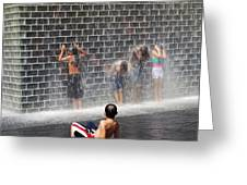The Best Little Water Park In Chicago Greeting Card
