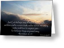 The  Bible Revelation 21 Greeting Card