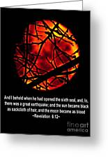 The Bible Revelation 6 Greeting Card