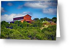 The Big Red Barn Greeting Card