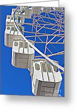 The Big Wheel Greeting Card