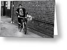 The Biker Greeting Card