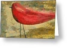 The Bird - K03b Greeting Card