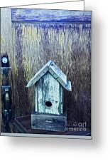 The Birdhouse Greeting Card