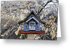 The Birdhouse Kingdom - The Cordilleran Flycatcher Greeting Card