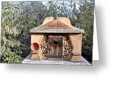 The Birdhouse Kingdom - The Evening Grosbeak Greeting Card