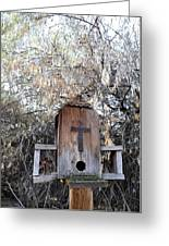 The Birdhouse Kingdom - The Olive-sided Flycatcher Greeting Card