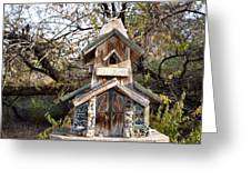 The Birdhouse Kingdom - The Red Crossbill Greeting Card