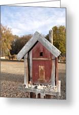 The Birdhouse Kingdom - Western Bluebird Greeting Card
