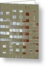 The Birth Of Squares No 1 Greeting Card by Ben and Raisa Gertsberg