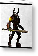 The Black Knight... Greeting Card