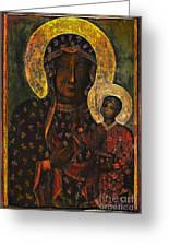 The Black Madonna Greeting Card