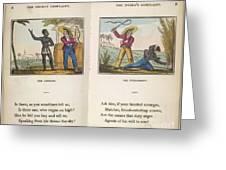 The Black Man's Lament Greeting Card