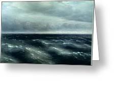 The Black Sea Greeting Card