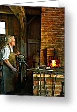 The Blacksmith 2 Greeting Card