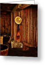 The Blacksmith's Hat Greeting Card