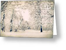 The Blizzard Greeting Card