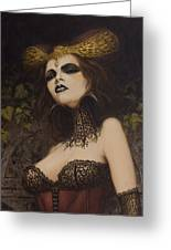 The Blood Countess Greeting Card