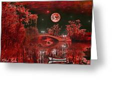 The Blood Moon Greeting Card