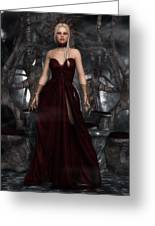 The Blood Queen Greeting Card