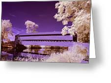 The Blue Bridge Greeting Card