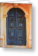 The Blue Door Venice Greeting Card