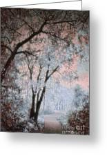 The Blue Trees Greeting Card