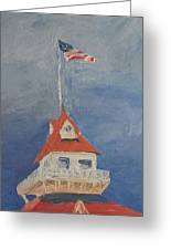 The Boat House Greeting Card
