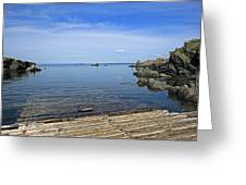 The Boat Launch Greeting Card