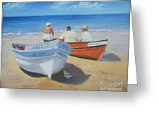 The Boaters Greeting Card