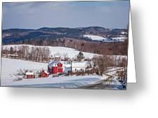 The Bogie Mountain Farm Greeting Card