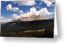 Mountain Pass - Colorado Greeting Card
