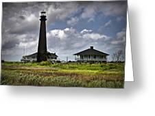 The Bolivar Lighthouse Greeting Card