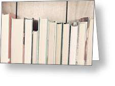 The Book Collection Greeting Card