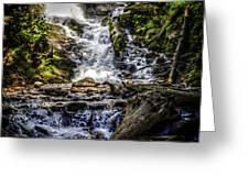 The Bottom Of Mingo Falls Greeting Card
