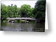 The Bow Bridge Greeting Card