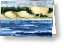 The Bowl - Dunes Study Greeting Card
