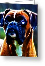 The Boxer - Electric Greeting Card