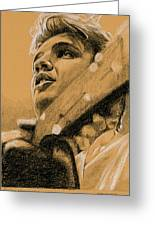 The Boy From Tupelo Greeting Card