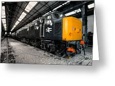 The Br Class 45  Greeting Card
